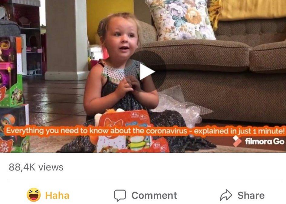 Minki explains the coronavirus and it's gone viral