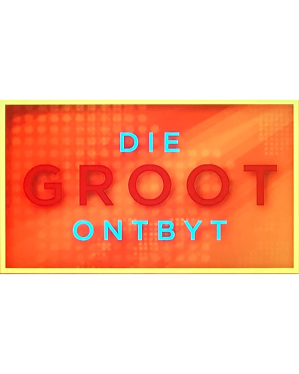 Die groot ontbyt breakfast radio show on kyknet channel 144 interviewing PrettyBelle the blog